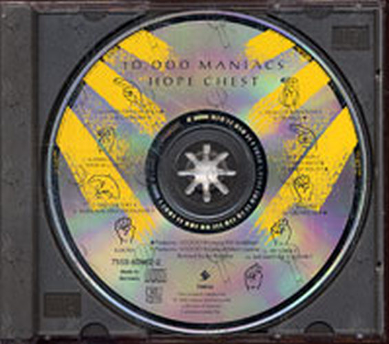 10--000 MANIACS - Hope Chest - 3