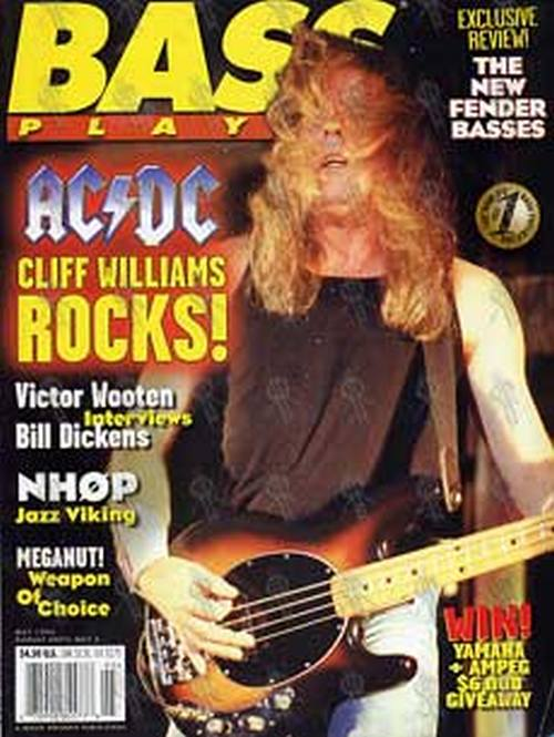 AC/DC - 'Bass Player' - May 1996 - Cliff On The Cover - 1