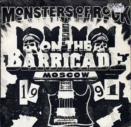AC/DC METALLICA - Monsters Of Rock: On The Barricade Moscow 1991 - 1