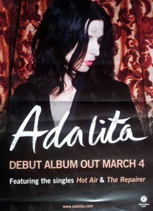 ADALITA|MAGIC DIRT - 'Adalita' 2011 Album Promo Poster - 1