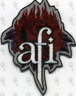 AFI - 'The Leaving Song Pt.II' Embroidered Sew-On Patch - 1