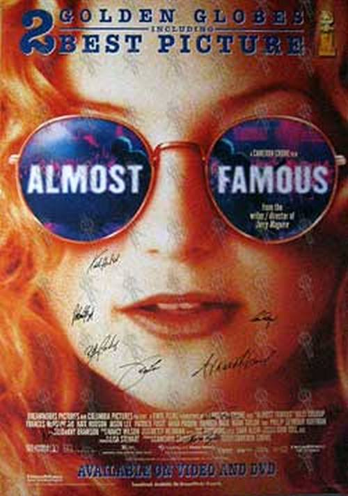 ALMOST FAMOUS - 'Almost Famous' Movie Poster - 1