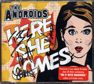 ANDROIDS-- THE - Here She Comes - 1