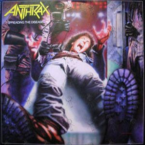ANTHRAX - Spreading The Disease - 1