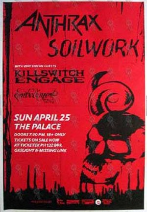 ANTHRAX|SOILWORK|KILLSWITCH ENGAGE - 'The Palace
