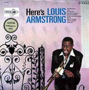 ARMSTRONG-- LOUIS - Here's Louis Armstrong - 1