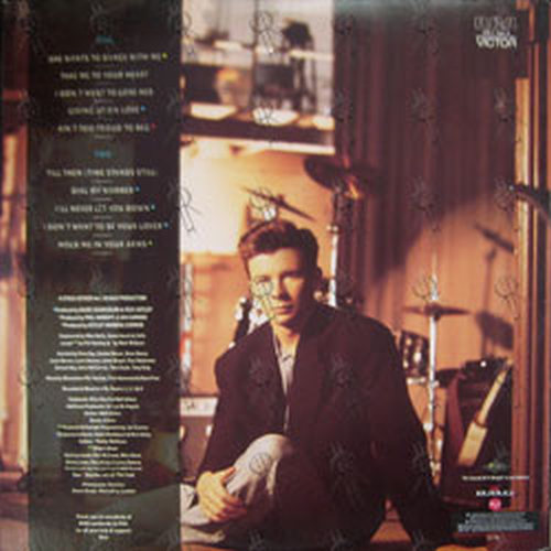 ASTLEY-- RICK - Hold Me In Your Arms - 2