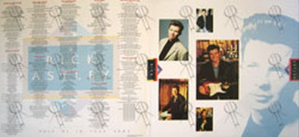 ASTLEY-- RICK - Hold Me In Your Arms - 3