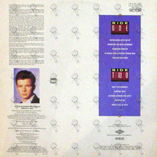 ASTLEY-- RICK - Whenever You Need Somebody - 2