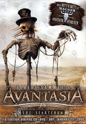 AVANTASIA - 'The Scarecrow' Promotional Postcard - 1