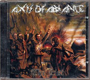 AXIS OF ADVANCE - The List - 1