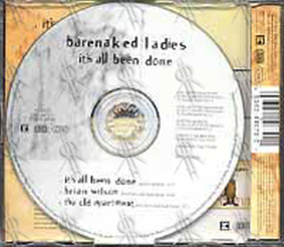BARENAKED LADIES - It's All Been Done - 2