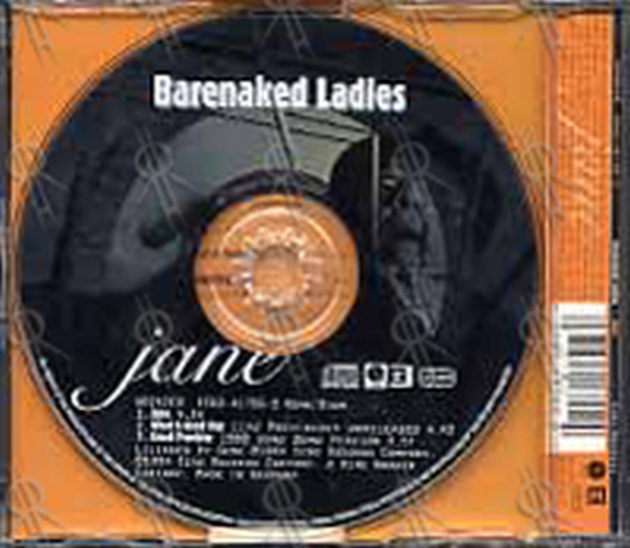BARENAKED LADIES - Jane - 2
