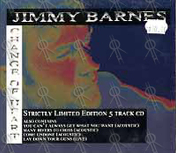 BARNES-- JIMMY - Change Of Heart - 1