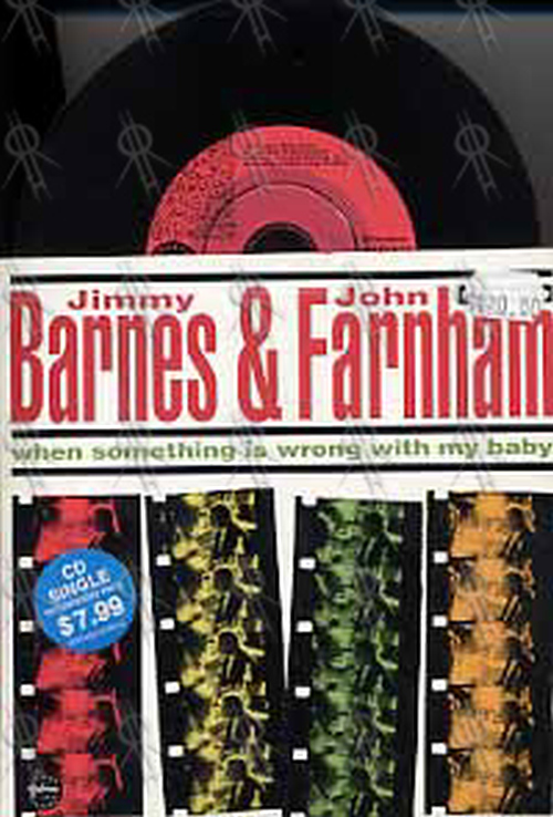 BARNES-- JIMMY with JOHN FARNHAM - When Something Is Wrong With My Baby - 1