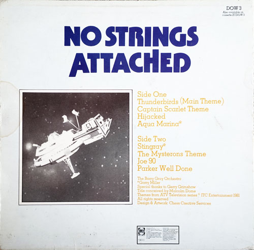 BARRY GRAY ORCHESTRA-- THE - No Strings Attached - 2
