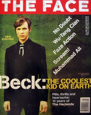 BECK - 'The Face' - May 1997 - No. 4 - Beck On Front Cover - 1