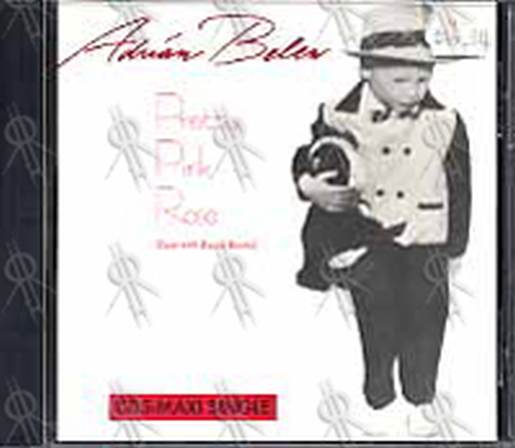 BELEW-- ADRIAN with DAVID BOWIE - Pretty Pink Rose - 1