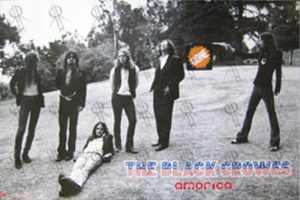 BLACK CROWES-- THE - 'Amorica' Poster - 1