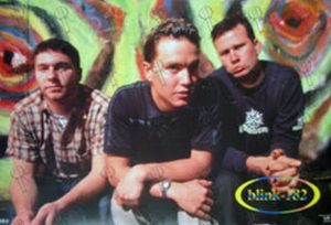 BLINK 182 - Band Photo Poster - 1