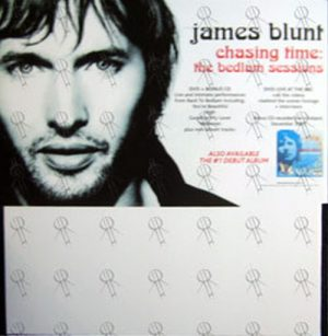 BLUNT-- JAMES - 'Chasing Time: The Bedlam Sessions' CD Rack Promo Display - 1