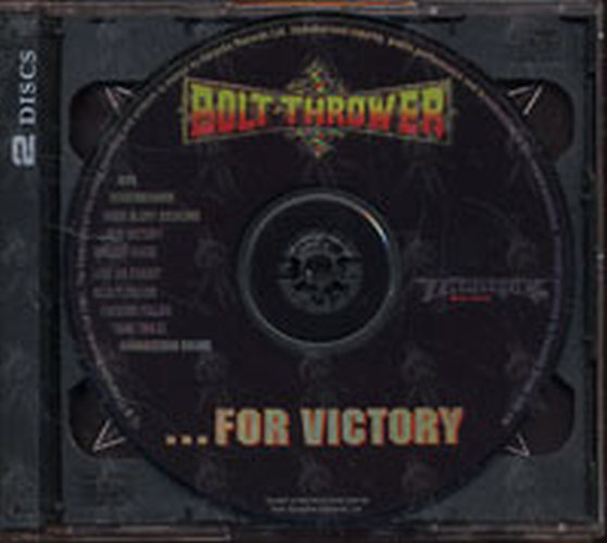 BOLT THROWER - ...For Victory - 3