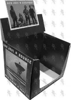 BON JOVI - 'Bounce' Album/'Everyday' Single Promo Display Box - 1