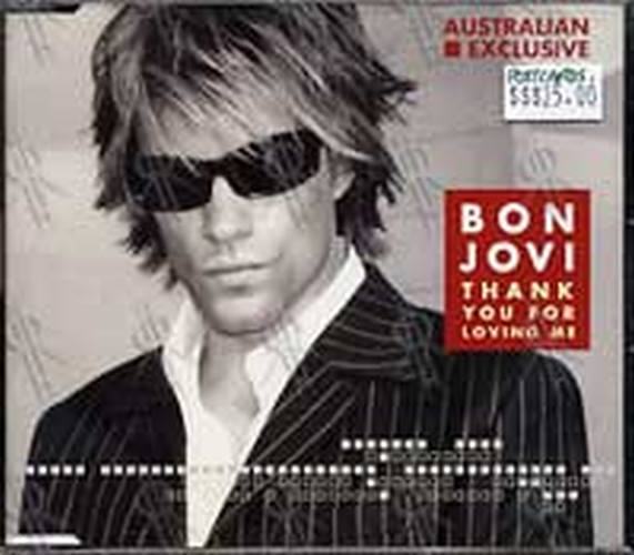BON JOVI - Thank You For Loving Me - 1