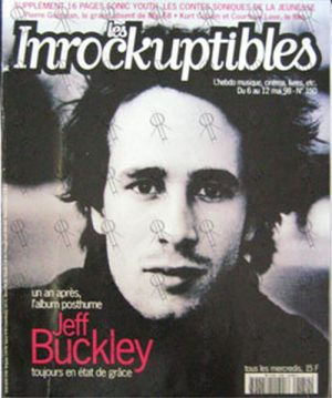 BUCKLEY-- JEFF - 'Les Inrockuptibles' - 12th May 1998 - Jeff Buckley On Cover - 1