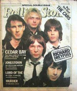 CARS-- THE - 'Rolling Stone' - January 25 1979 - No. 283 - 1
