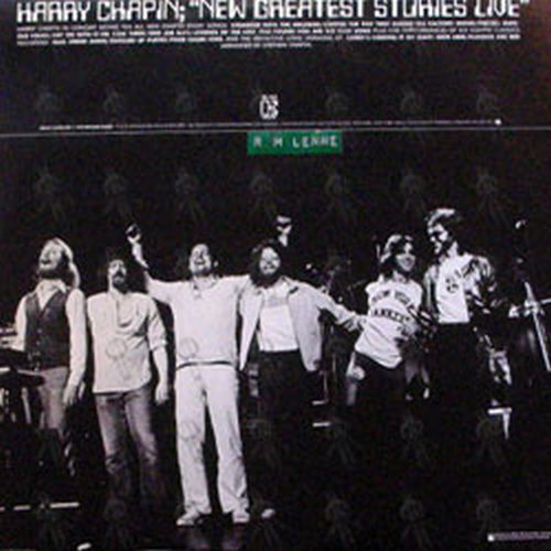 CHAPIN-- HARRY - Legends Of The Lost And Found - 2