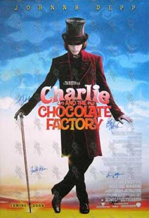 CHARLIE AND THE CHOCOLATE FACTORY - 'Charlie And The Chocolate Factory' Movie Poster - 1