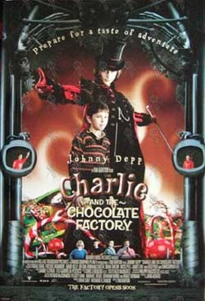 CHARLIE AND THE CHOCOLATE FACTORY - Movie Poster - 1