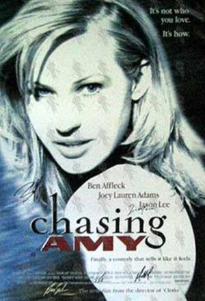 CHASING AMY - 'Chasing Amy' Cinema Poster - 1