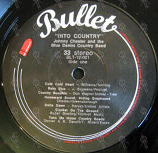 CHESTER-- JOHNNY - Johnny Chester... Into Country - 8
