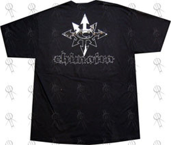 CHIMAIRA - Black Logo T-Shirt - 3