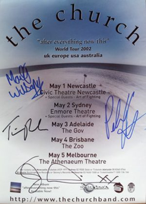 CHURCH-- THE - After Everything Now This 2002 Australian Tour - 1