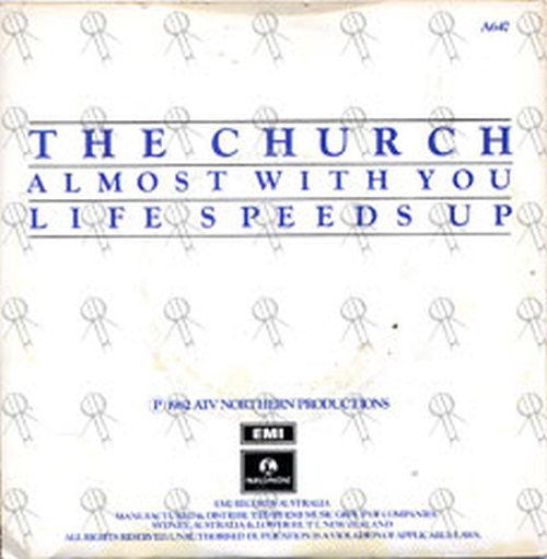CHURCH-- THE - Almost With You - 2