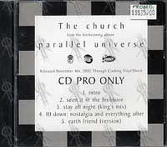 CHURCH-- THE - 'Parallel Universe' Sampler - 1
