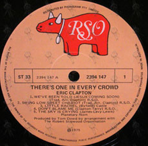 CLAPTON-- ERIC - There's One In Every Crowd - 3
