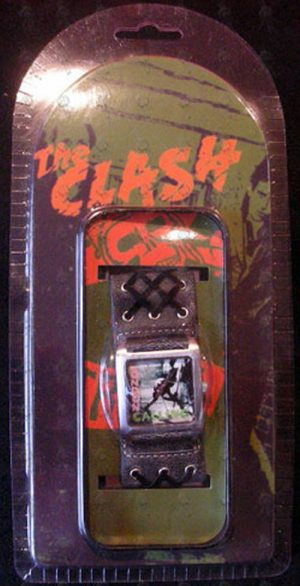 CLASH-- THE - 'London Calling' Design Dial Watch - 1
