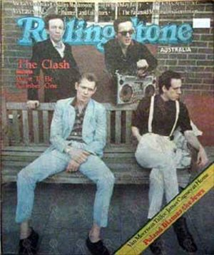 CLASH-- THE - 'Rolling Stone' - Febuary 18th