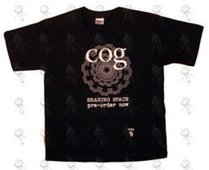 COG - Black 'Sharing Space' Girls Promo T-Shirt - 1