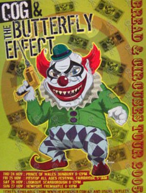 COG|THE BUTTERFLY EFFECT - 'Bread & Circuses' Australian Tour 2005 - 1