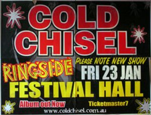 COLD CHISEL - Festival Hall