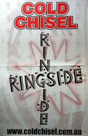 COLD CHISEL - 'Ringside' Album Poster - 1