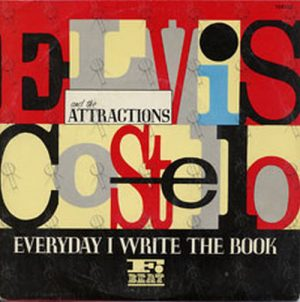 COSTELLO-- ELVIS and the ATTRACTIONS - Everyday I Write The Book - 1