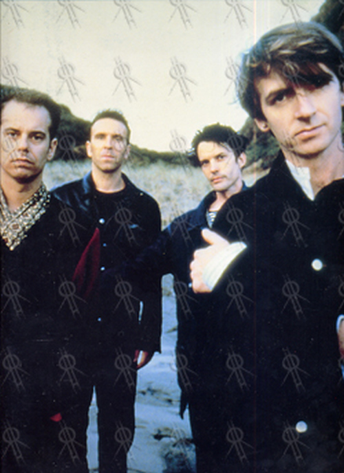 CROWDED HOUSE - 'Farewell To The World' Program - 1
