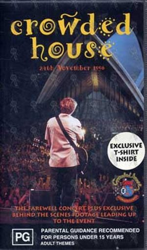 CROWDED HOUSE - Farewell To The World - Sydney Opera House