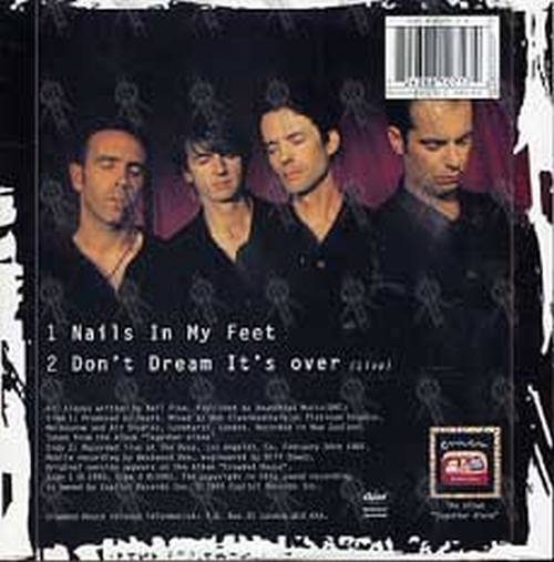 CROWDED HOUSE - Nails In My Feet - 2